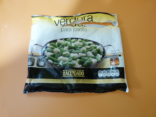Verdura especial paella