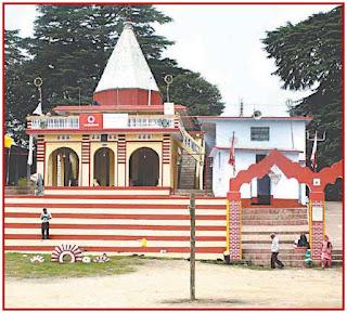 maa barahi dham Devidhura bagwal mela temple - bababerojgaar
