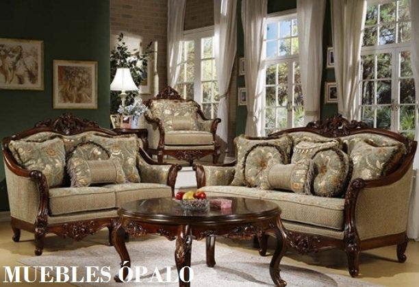 Palo muebles salas clasicas for Muebles de sala promart