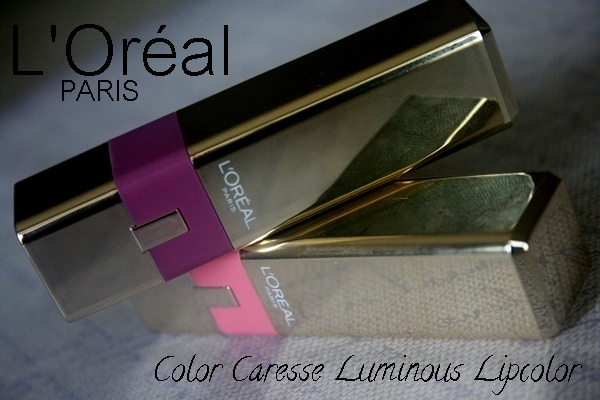 L'oreal Color Caresse Luminous Lipsticks