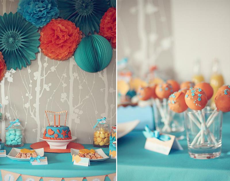 sweet table aquatique