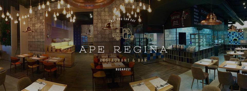 Ape Regina - all you can eat étterem Budapesten