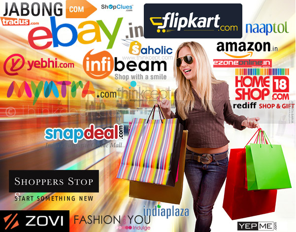 Top 10 best online shopping sites in india techzilla for Top online websites for shopping
