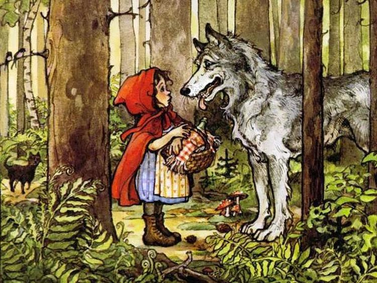 Сексуальная жизнь красной шапочки и волка
