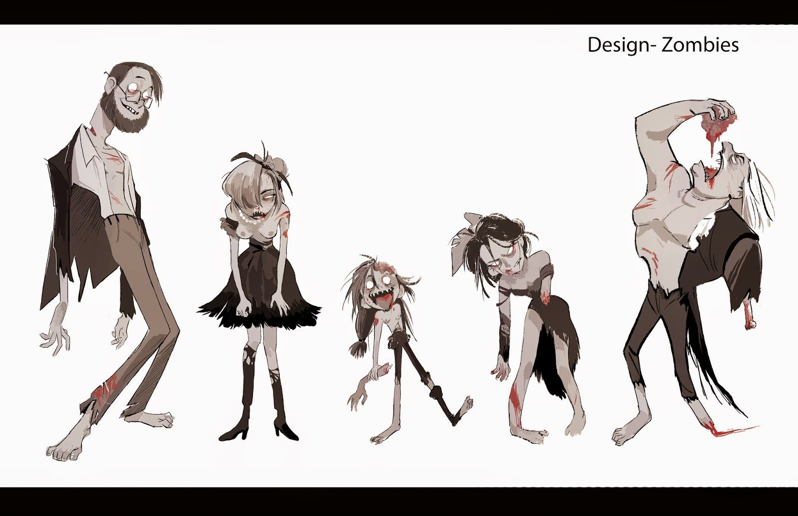Professional Character Design Portfolio : Mirae works yi character design portfolio