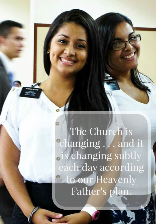 Sister Missionaries strengthen the Church