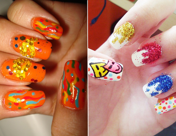 Papper Girl: Unhas Decoradas: CARNAVAL!!