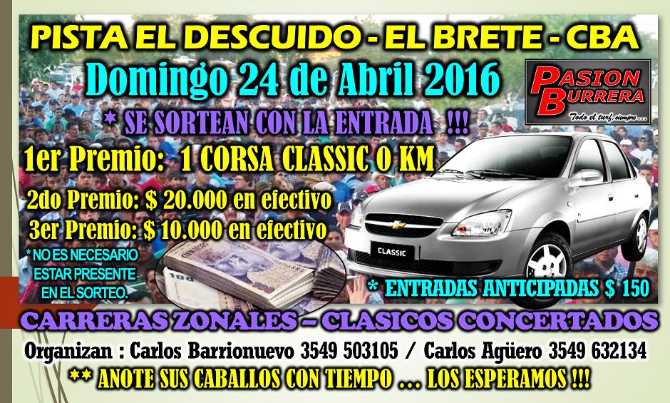 EL BRETE - 24 DE ABRIL 2016