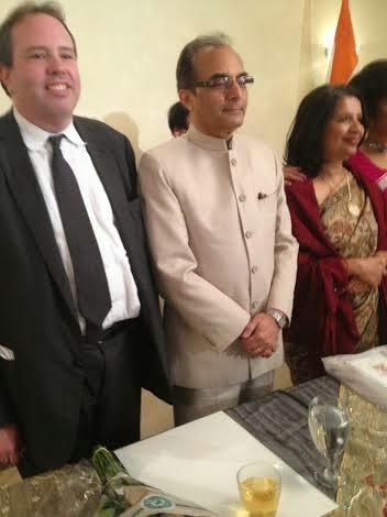 Ralph E. Winnie, Jr. with Ambassador Nirupma Rao of India