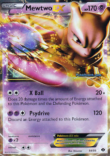 Mewtwo EX Next Destinies Pokemon Card