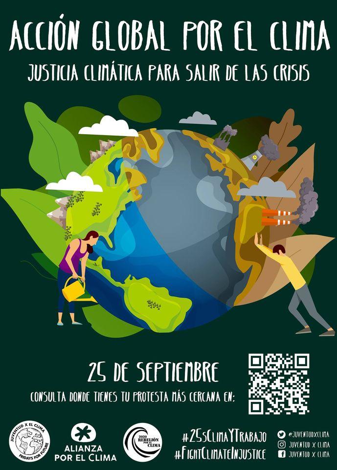 MOVILIZACIÓN 25S 2020 ACCIÓN GLOBAL POR EL CLIMA. Justicia climática para salir de la crisis.