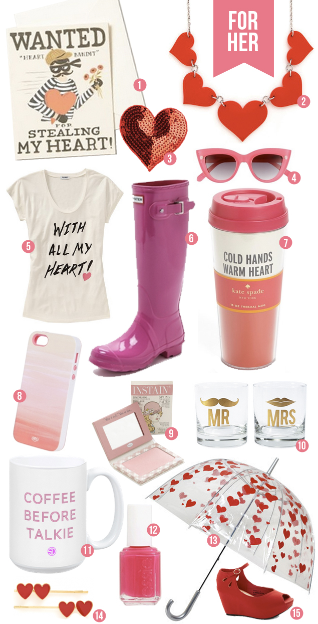 Valentine's Day Gift Guide For Her - The Clueless Girl's Guide