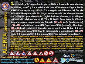 Alerta/Aviso meteorológico
