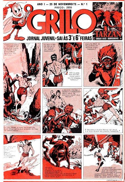 TODOS LOS JUEVES: O Grilo S2 - 01 - Portugal Press - Escaneos de GranadaXV