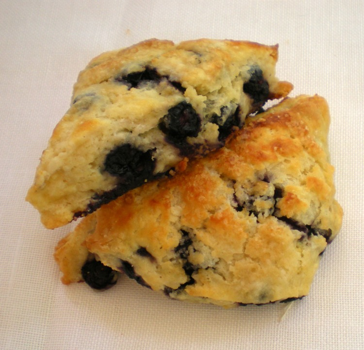 Blueberry and lemon buttermilk scones by Lucy Mercer/A Cook and Her ...