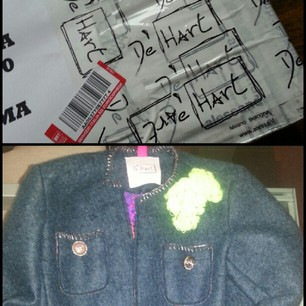 de'hart jacket, fashion blogger roma, de'hart