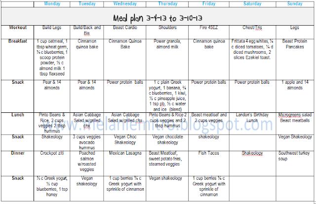 Body Beast Eating Plan Spreadsheet | Search Results | Calendar 2015