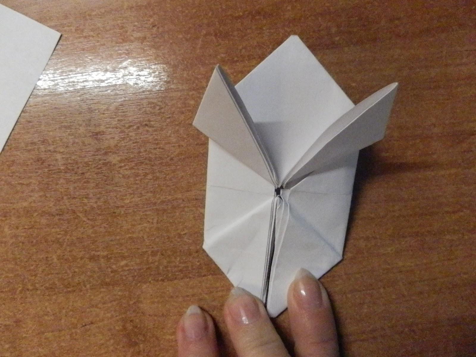 Видео оригами из бумаги прыгающий лягушки