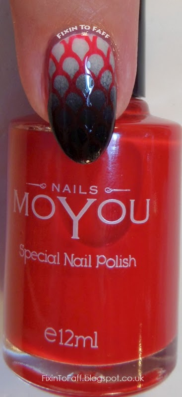 MoYou Nails Special Nail Polish swatch Red