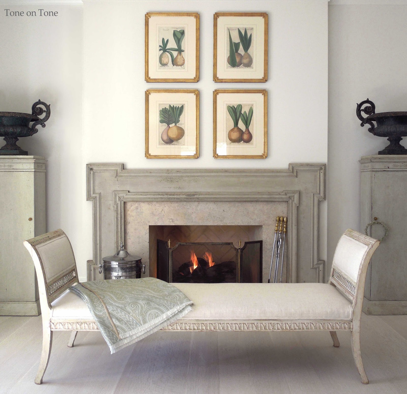 tone on tone antiques at home swedish daybeds