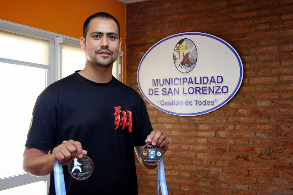 Gran actuación de Omar Sanvido en el Campeonato Nacional de Karate