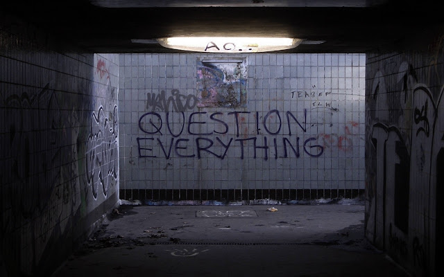 Question Everything Photo