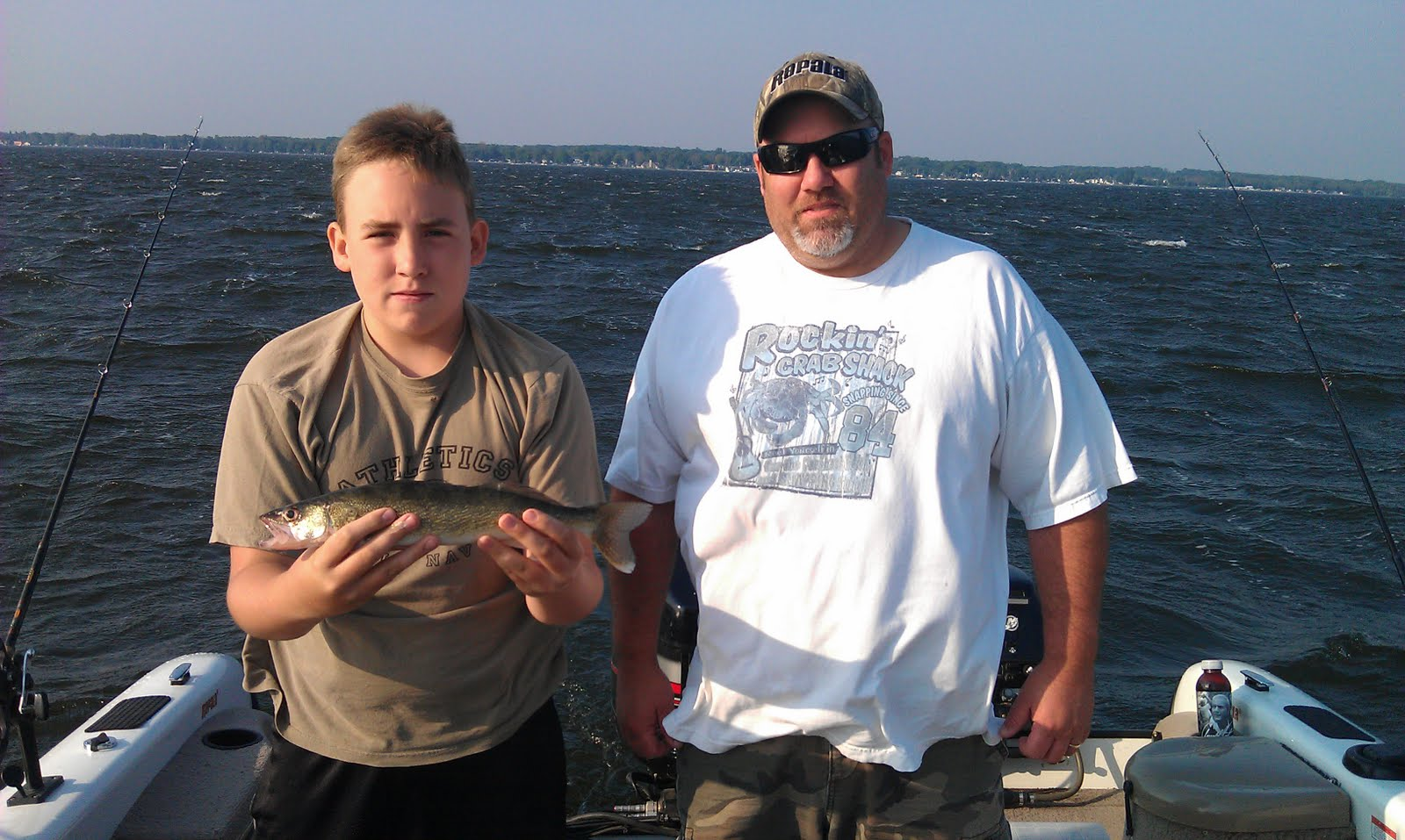 Houghton lake walleye report houghton lake 9 2 11 for Enid lake fishing report
