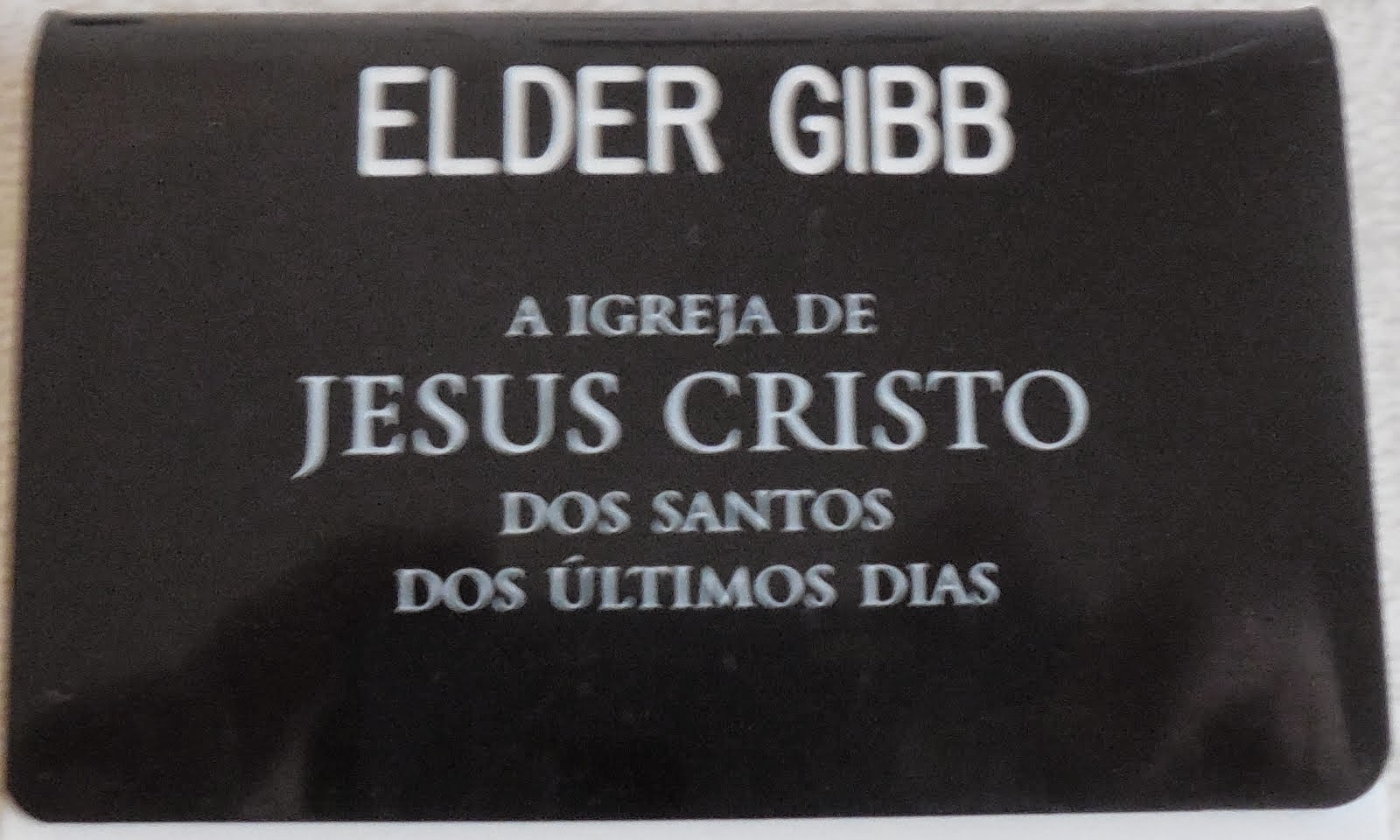 Portuguese Name Tag