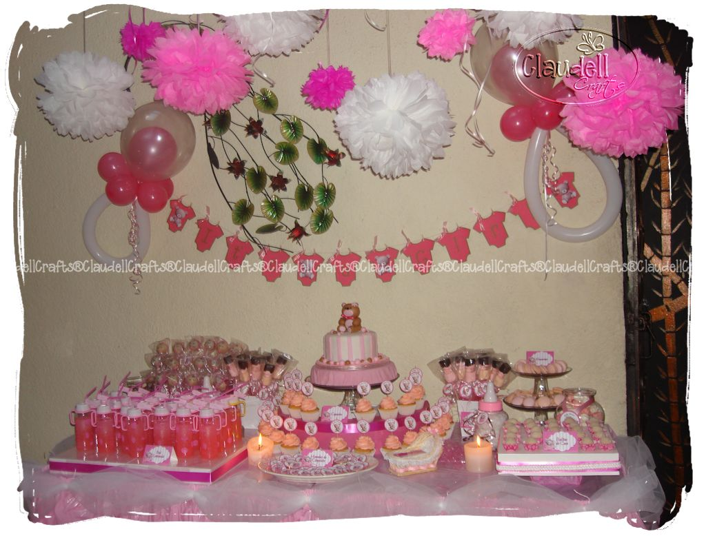 Claudell crafts fiesta tem tica baby shower ositas ni a - Fiesta baby shower nina ...