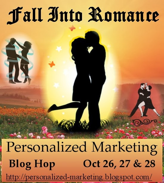 Personalized Marketing's Fall Into Romance Blog Hop