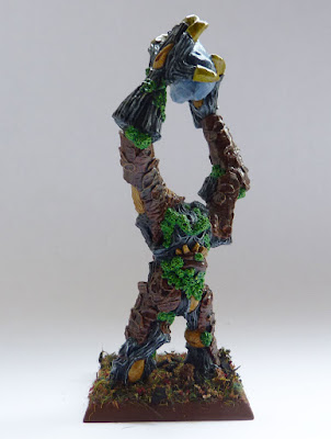 A painting update for Wood Elf Treekin from Warhammer Fantasy Battle, using Aly and Trish Morrison Marauder Treemen.