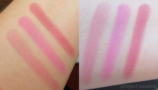 Pink Sprint 366 - Pink Parfait, Pink Ice, Pinktini swatches