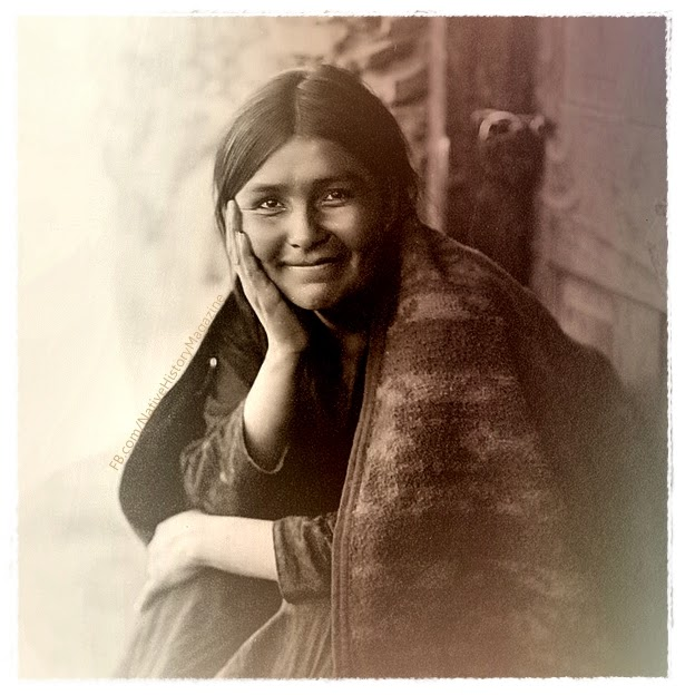 Navaho Smile Edward S Curtis