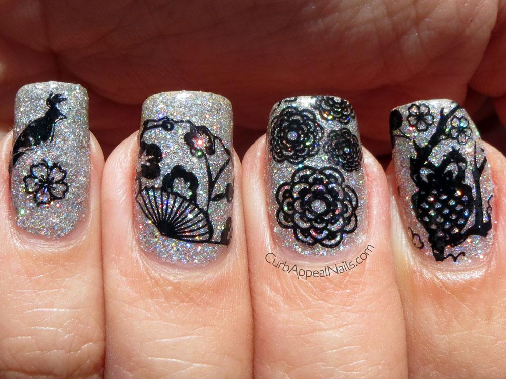 Curb Appeal Nails Nail Art Polish Blog Moyou London Stamping