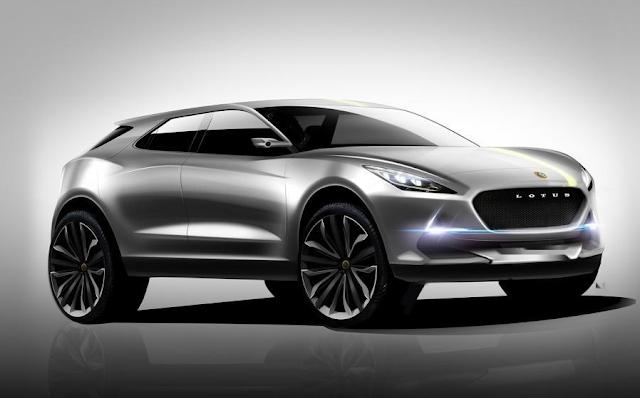 2018 Lotus SUV Concept Specs Price Rumor