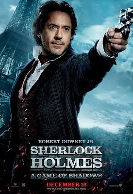 Sherlock Holmes 2 Robert Downey Poster HD