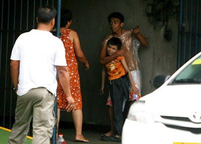secuestrador con un niño de 9 años en filipinas