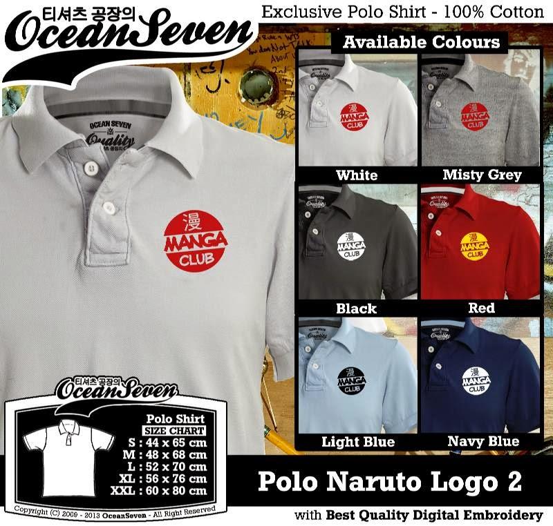 Kaos Polo Manga Logo 2