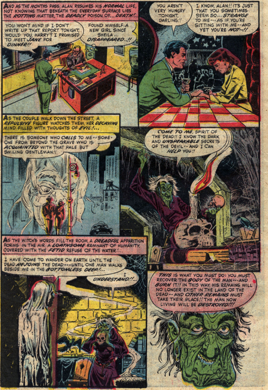 Barebones e zine the dungeons of doom the pre code horror comics not only did tomb of terror experience the requisite growing pains in its initial issues but the last two malvernweather Choice Image