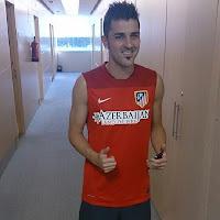 Villa pasa el reconocimiento médico con el Atleti