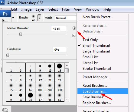 Cara-cara Untuk Menambahkan Brush di Photoshop