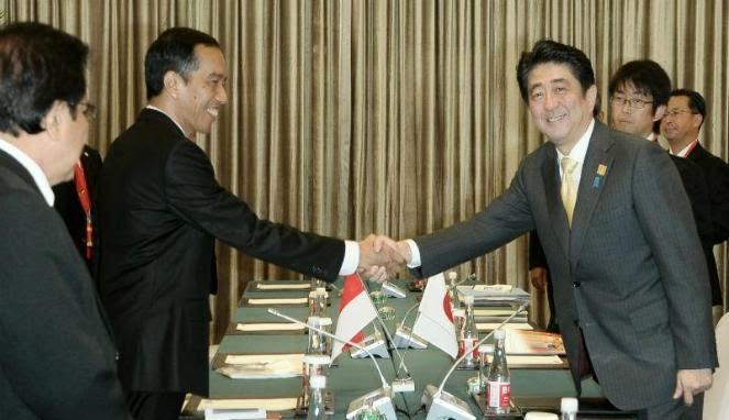 Bertemu Perdana Menteri Jepang, Jokowi Bahas Kerja Sama Maritim