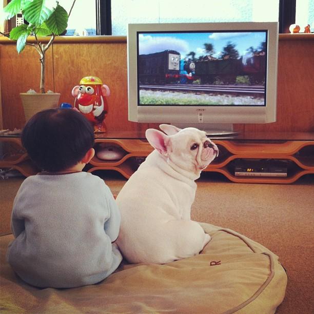 Tasuku and Muu Sweet Friendship