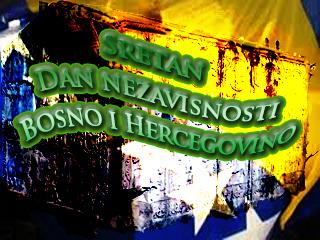 sretan dan nezavisnosti bosno i hercegovino