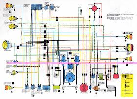 Diagram On Wiring: Honda SL350 Motorcycle Complete Wiring DiagramDiagram On Wiring - blogger