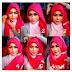 Contoh Tutorial Hijab Terbaru Modis Yang Menginspirasi