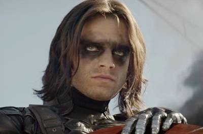 Sebastian Stan in Captain America The Winter Soldier movie review