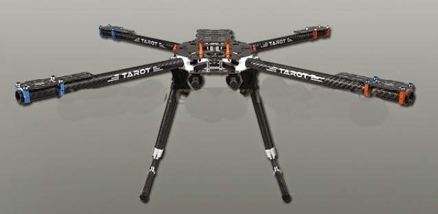 Mr. Armageddon\'s Project Log: Quadcopter Drone - Tarot 650 Frame ...