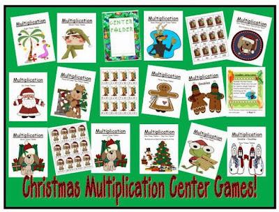 http://www.teacherspayteachers.com/Product/Thirteen-Christmas-Multiplication-Center-Games-166967