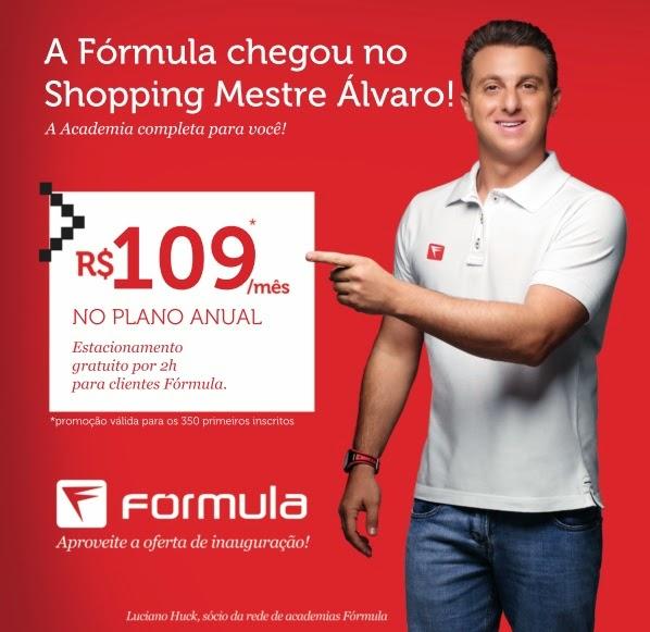 Academia Fórmula - A academia do Shopping Mestre Álvaro